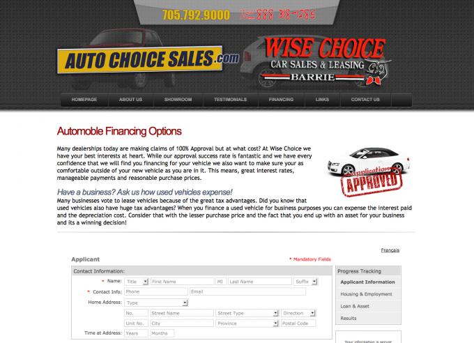 Auto Choice Car Sales Barrie
