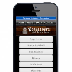 Donaleighs Mobile Site