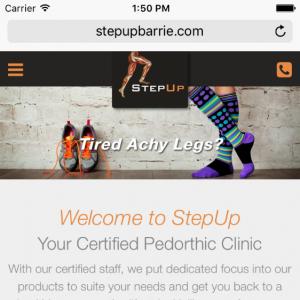 StepUp Barrie - Barrie Website Project | Media Suite Inc